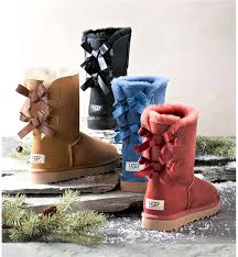 womens black ugg boots with bows ugg australia s bailey bow boot boots