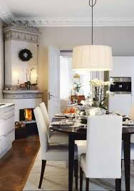 living room with mounted lcd tv and corner fireplace add charm