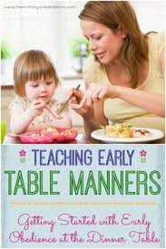 Kids Eating Table A Fun Way To Teach Table Manners To Kids U0026 Free Printable Table