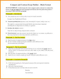 quote comparison format block format essay cover letter comparison contrast essay