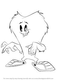 learn draw gossamer looney tunes looney tunes step