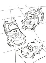 kids fun 38 coloring pages cars 2