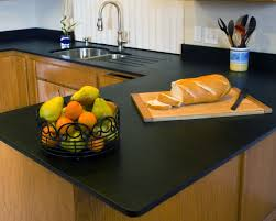 cool kitchen room with black metal fruit basket and stainless