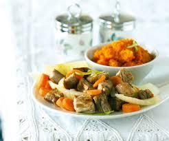 fenouil cuisiner recette gourmande ragoût de veau au fenouil et purée de carotte