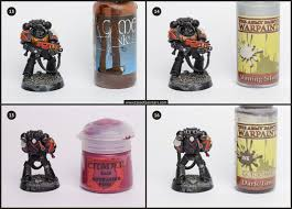 tutorial how to paint blood angels company tale of painters