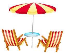 Clip On Umbrellas For Beach Chairs Beach Chair Cliparts Cliparts Zone