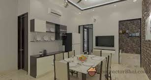 Interior Design For Hall In India 3d Interior Design Service For Indian Homes Contractorbhai