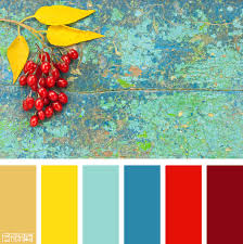 color palette gold turquoise and red if you like our color