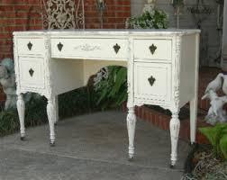 Shabby Chic Furniture Chicago by Shabby Chic Desk Etsy