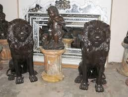 antique bronze lion canonbury antiques search
