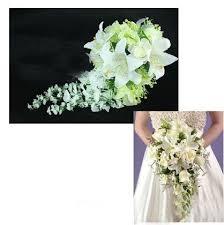 Silk Wedding Flowers Rose Lily Bride Wedding Flower Bouquet Hand Flower The Artificial