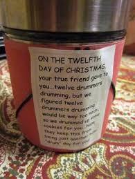 sweet fluttering kisses 12 days of christmas for teachers