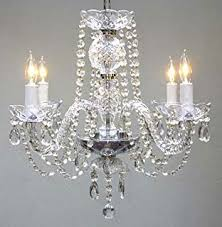 Making Chandeliers At Home Amazon Com Chandelier Lighting Crystal Chandeliers H27