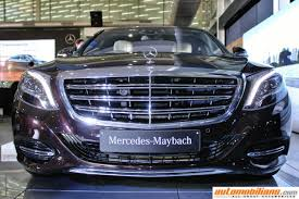mercedes maybach s500 mercedes maybach s600 launched in india at rs 2 60 crores ex