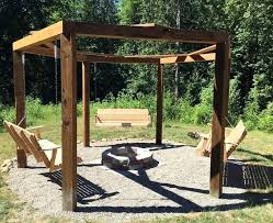 Cool Firepit Cool Gazebo Plans With Firepit Shade Patio Pergola Pit