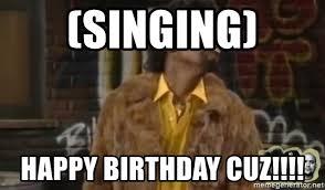 Martin Lawrence Meme - singing happy birthday cuz jerome martin lawrence meme