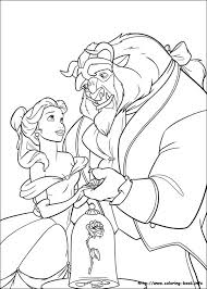 printable 47 beauty beast coloring pages 1695 beauty