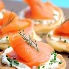 canapé saumon recette blinis au saumon