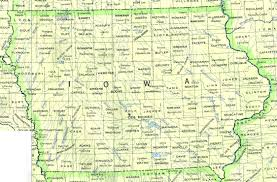 Map Of The Midwest Statemaster Maps Of Iowa 16 In Total