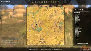 World Treasure Map by Reaper U0027s March Treasure Map Iv Location The Elder Scrolls Online