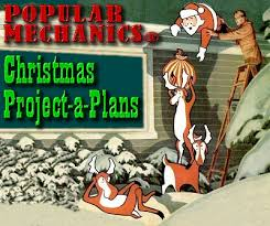 Outdoor Christmas Decorations Made Of Wood by Popular Mechanics Christmas U0027project A Plans U0027 From Family