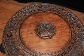 antique burmese hand carved elephant side table coffee tables ebay