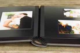 photo album black pages crafted wedding album matted albums zookbinders
