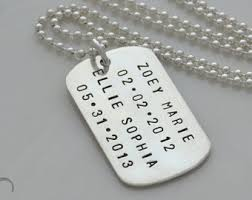customized dog tag necklace with picture dog tag jewelry etsy