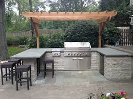 Patio Bbq Island by Grill Surround