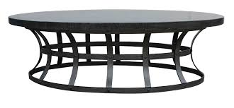 outdoor metal end tables oval metal table amazon magnussen galloway iron and glass cocktail