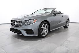 convertible mercedes black new 2018 mercedes benz e class e 400 convertible in rockville