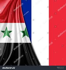 France Flag Images Syria France Flag Silk Copyspace Your Stock Illustration 339641288
