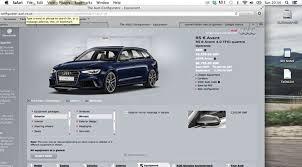 audi configurater audi rs6 avant 2015 term test review by car magazine