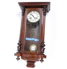 vintage junghaus wooden wall clock ebth