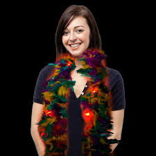 mardi gras feather boas mardi gras feather boa light up boas featherboashop