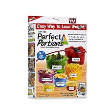 Bed Bath And Beyond Richmond Get Fit Perfect Portions 14 Piece Portion Control Food Container