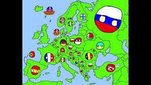 Europe Map In 1914 by Drawing The Map Of Europe In Countryballs 2 Art Youtube