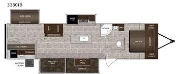 lacrosse rv floor plans lacrosse 3380ib travel trailer