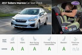 convertible subaru impreza 2017 subaru impreza car seat check news cars com