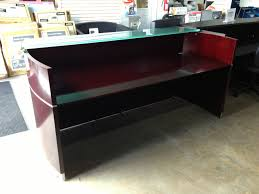 Reception Desk Sale by Italian Reception Desk With Frosted Glass Transaction Counter
