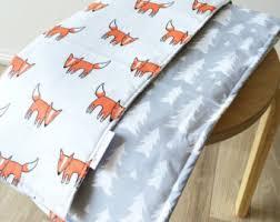 fox crib bedding nursery bedding baby crib set fox crib set