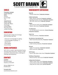 Video Resume Script Resume U2014 Scott Brawn