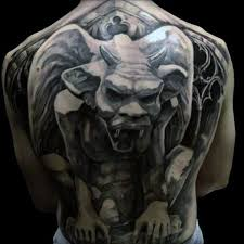 70 gargoyle tattoo designs for men stone statue ideas
