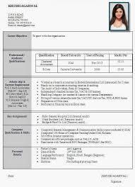 best resume format best resume formats for india