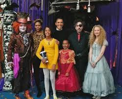 Johnny Depp Costumes Halloween President Obama Michelle Obama Malia Obama Sasha Obama Johnny