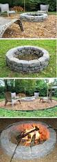 how to make an outdoor firepit 35 best diy garden and backyard images on pinterest fire places