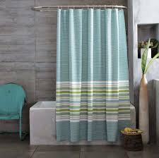 curtains with gray walls contemporary bathroom with grey walls and stripes shower curtain