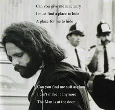 A Place Jim Can You Give Me Sanctuary Jim Morrison Doors And Rock