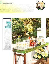 southern living magazine tara guérard soirée