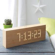 clock made of clocks click message clock by gingko notonthehighstreet com for the